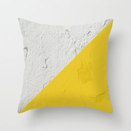 Cemented Throw Pillow
