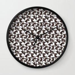 Ally's Cats Wall Clock