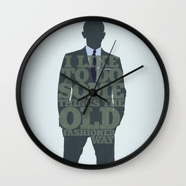Skyfall - James Bond: The Old Fashioned Way Wall Clock