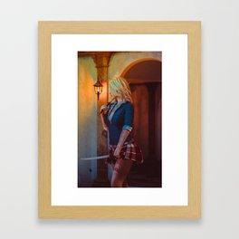 Swordmaster II Framed Art Print