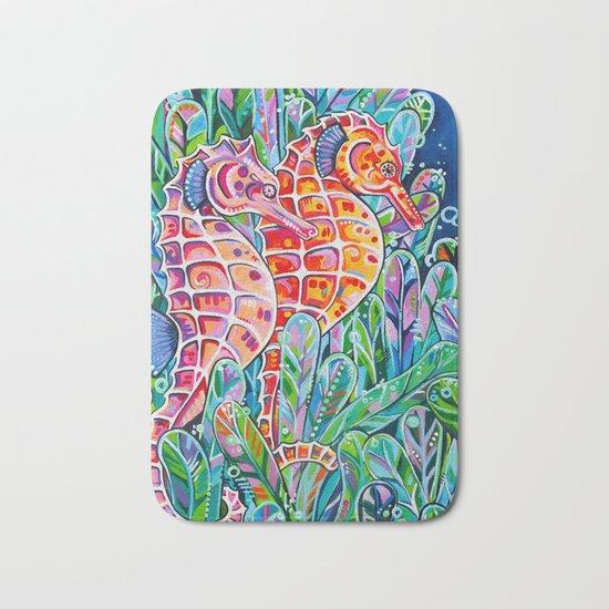 Seahorses Bath Mat