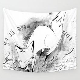 minima - deco fox Wall Tapestry