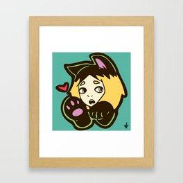 Meow~ Kenma Framed Art Print