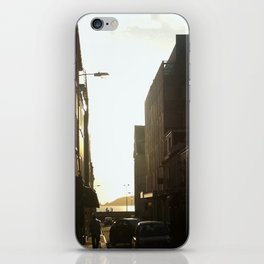 Chilling in the street iPhone Skin
