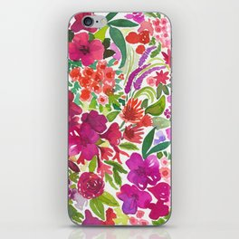 Tropical Flora iPhone Skin