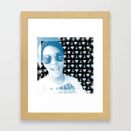 Anything But Dime a Dozen Framed Art Print