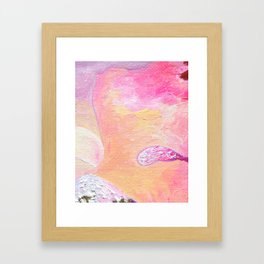 Abstraction World #1. Part 2 Framed Art Print