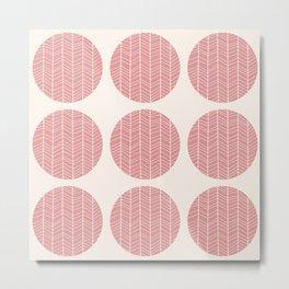 Circle pattern 02 Metal Print
