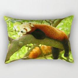 Chilling Red Panda Rectangular Pillow