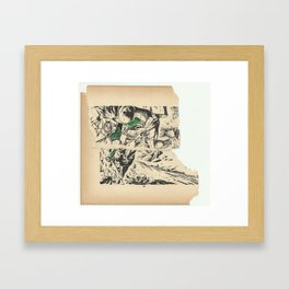 """'YOU SWINE!"""" Framed Art Print"""