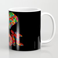 8 bit Mugs featuring i heart 8-bit by frederic levy-hadida
