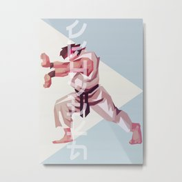 The Fighter Within Metal Print