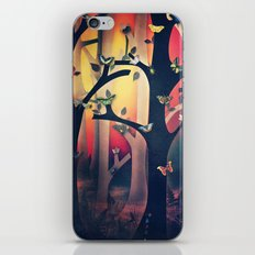The Woods at Sunset iPhone & iPod Skin