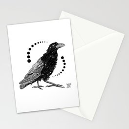 Crow Stationery Cards