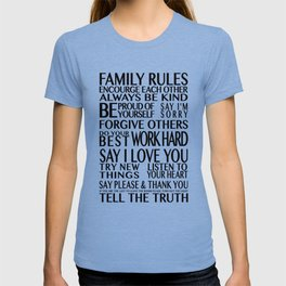 Family Rules 2 T-shirt