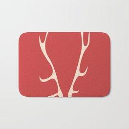 deer antlers Bath Mat