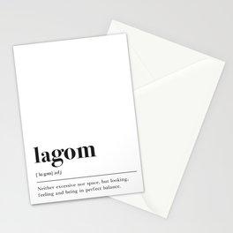 Lagom Definition Stationery Cards
