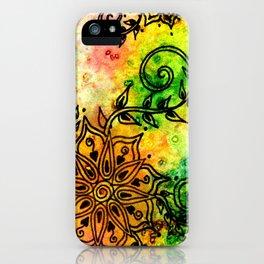 Henna Fantasia iPhone Case