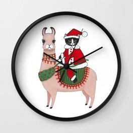 Santa Claws and Llama 3 Wall Clock