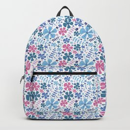 My Little Garden pink &blue Backpack