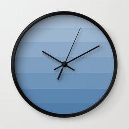 Light Denim Blue - Hues Wall Clock