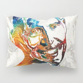 Zombie Art - The Living Dead - Halloween Fun Pillow Sham