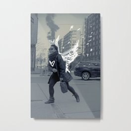 TASHA the NY ANGEL Metal Print