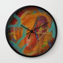 Snug and Loved Wall Clock