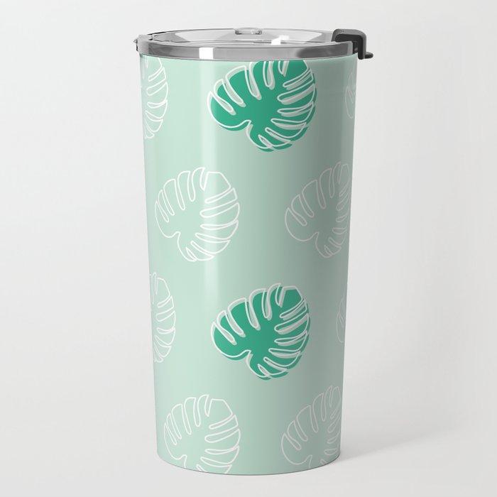 Monstera Moment Travel Mug