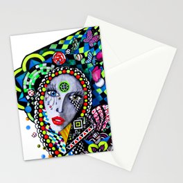 SERPENTINA COLORIDA Stationery Cards