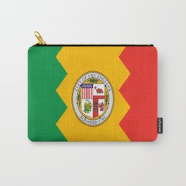 American cities-  Flag of  los angeles Carry-All Pouch