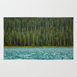 Alpine Lake & Forest Rug