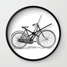 Bicycle 2 Wall Clock