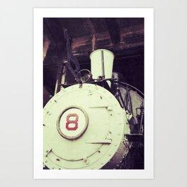 Engine 8 Art Print