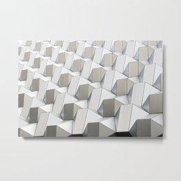 German Geometric Metal Print