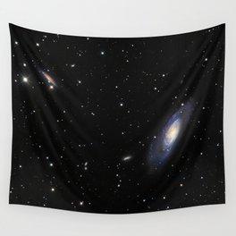 Spiral Galaxy M106 Wall Tapestry