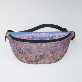 Mount Whitney /view from Movie Flats, Lone Pine, CA. Fanny Pack
