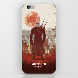 Witcher 3 wild hunt  iPhone Skin