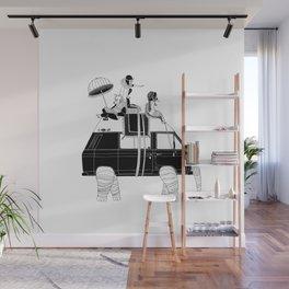 Elephant Camper Van Wall Mural
