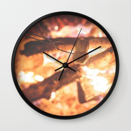 Making Smores Wall Clock