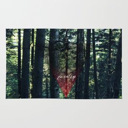 Trip Away Into the wild Rug