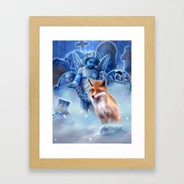 Spirit of the Fox Framed Art Print