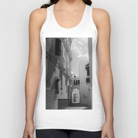 morocco Tank Tops featuring Asilah, Morocco by Petrichor Photo
