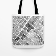 city plan Tote Bag