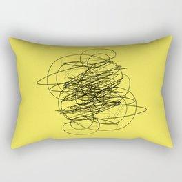 DEVOTIONAL SCRIBBLE Rectangular Pillow