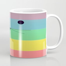 Rainbow Kitty Coffee Mug