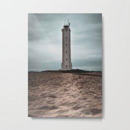 The Malariff Lighthouse Metal Print