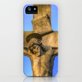 Jesus Statue iPhone Case