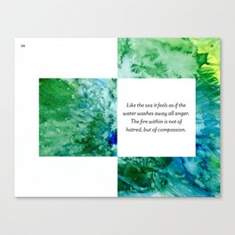Page 8 Canvas Print