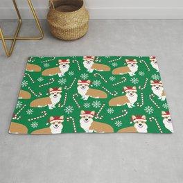 Corgi christmas welsh holiday gift for dog breed dog person corgi lovers christmas gifts Rug